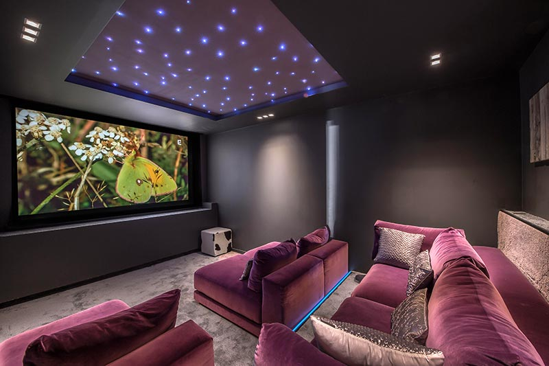 Salle de cinema - Crystal White